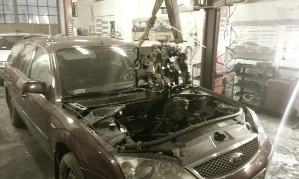 Ford Mondeo - wymiana silnika