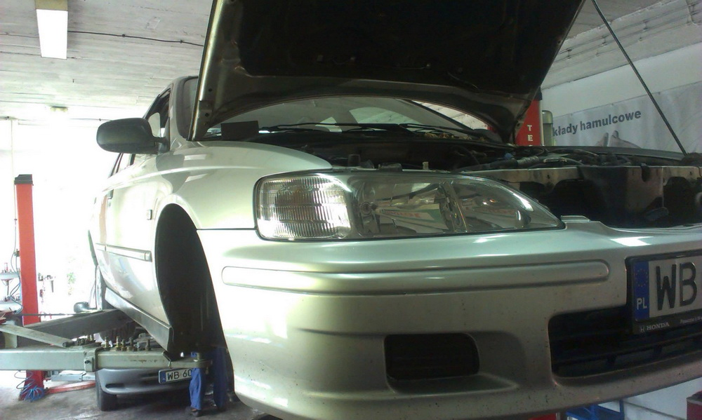 Honda Accord - wymiana sprzęgła