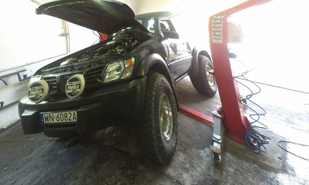 Nissan Patrol - regeneracja turbiny