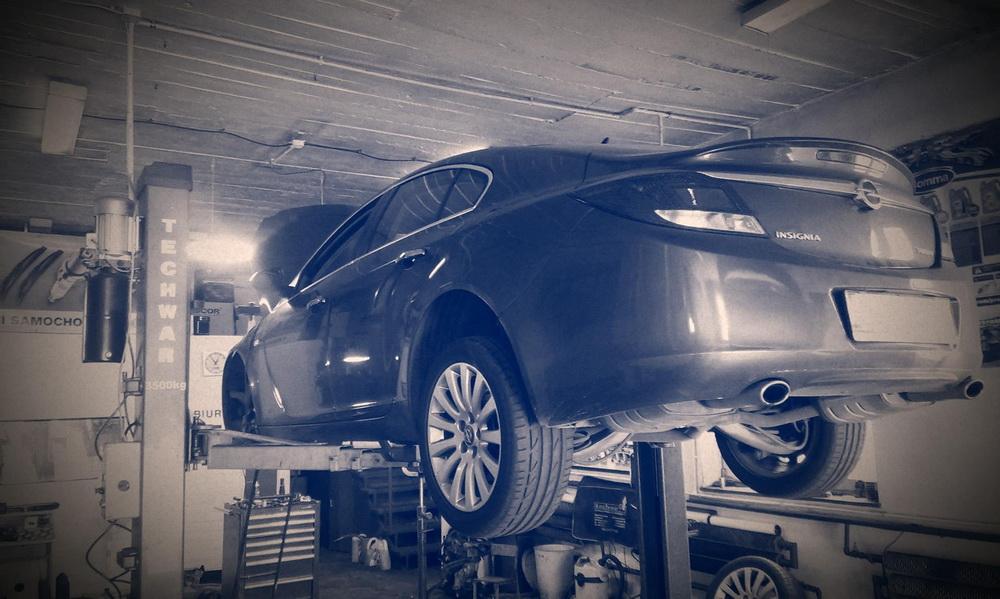 Opel Insignia - wymiana sprzęgła