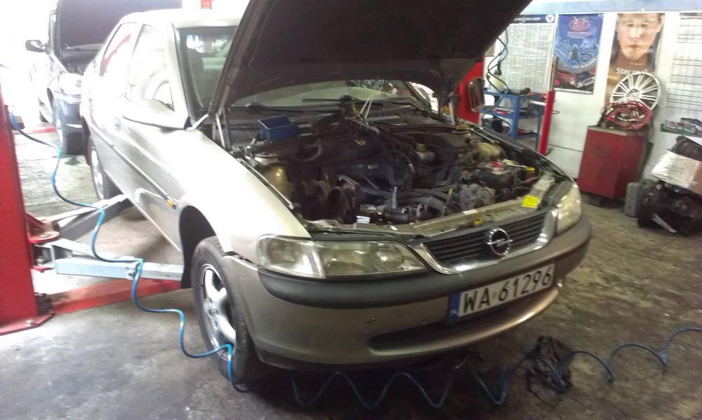 Opel Vectra - remont silnika