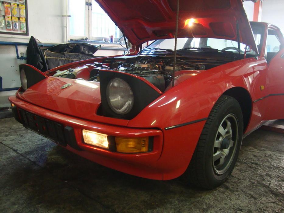 Porsche 924 - uszczelnienie silnika oraz ogólny przegląd auta