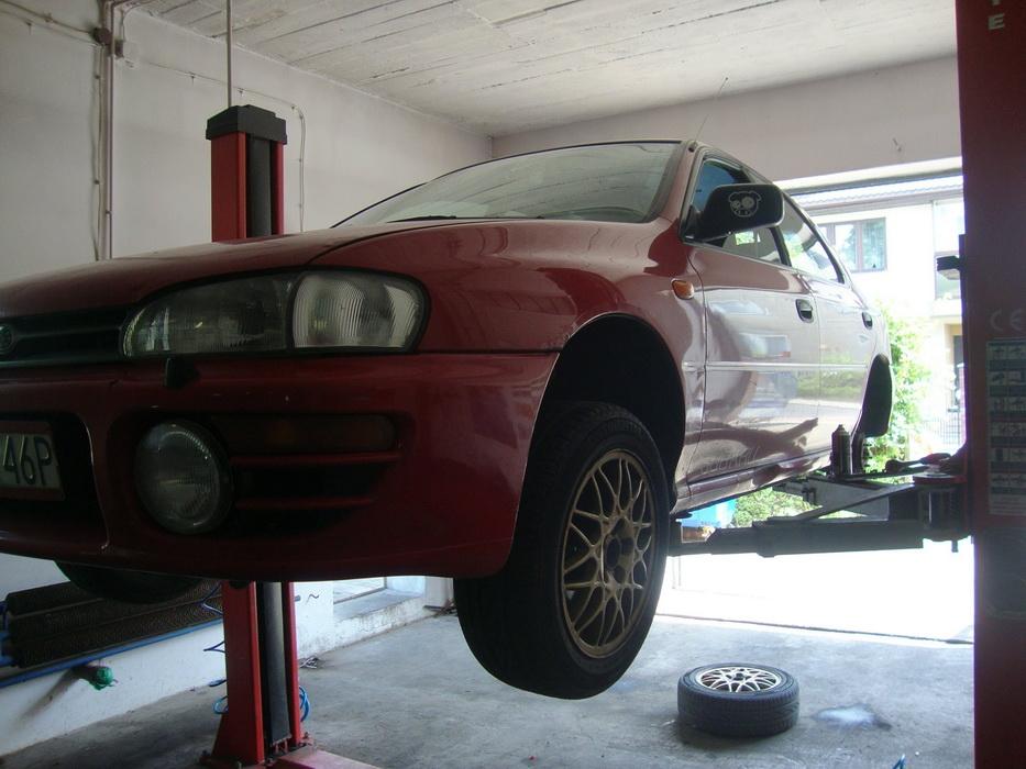 Subaru Impreza - z serii ciekawostki: jakie można mieć świetne hamulce :)