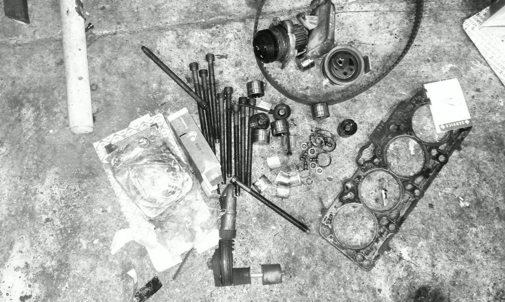 VW Passat 1.9 TDI - remont silnika